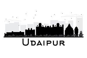 Udaipur City skyline