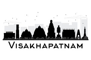 Visakhapatnam City skyline