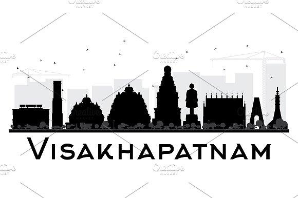 Visakhapatnam City Skyline