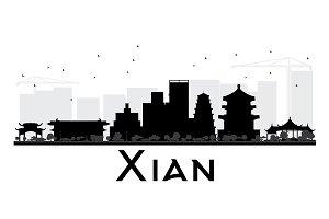 Xian City skyline