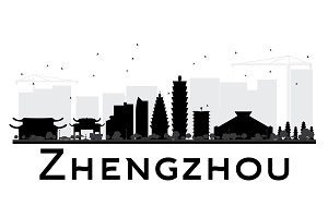 Zhengzhou City skyline