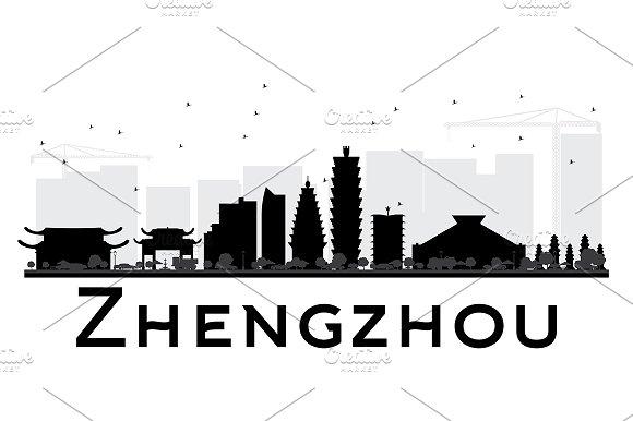 Zhengzhou City Skyline