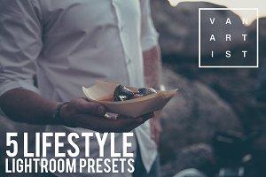 5 Lifestyle Lightroom Presets