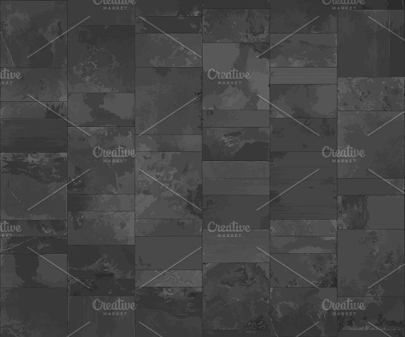 Slate Tile Texture Vector Graphic