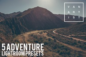 5 Adventure Lightroom Presets