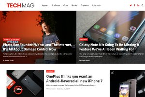 TechMag-Technology Magazine Theme