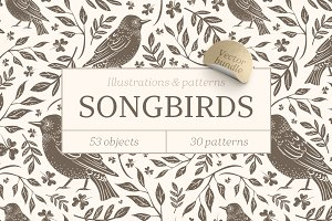 Songbirds graphic collection