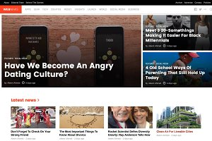 WebNews - Tech Magazine WP Theme