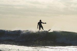 Surf at Dawn - Mojacar