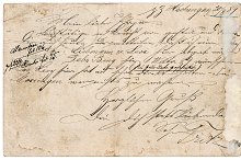 Old Letter with Handwritten Text