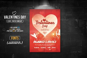 Valentines Day - Flyer