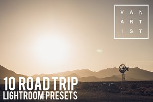 10 Roadtrip Lightroom Presets