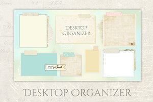 Vintage Organizer Wallpaper