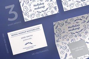 Business Cards | Holiday Makeup