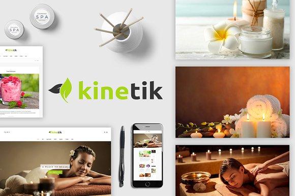 Kinetik Spa Beauty Blogging Theme