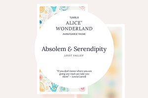 Absolem & Serendipity tumblr theme