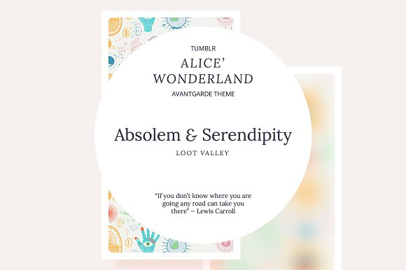 Absolem Serendipity Tumblr Theme