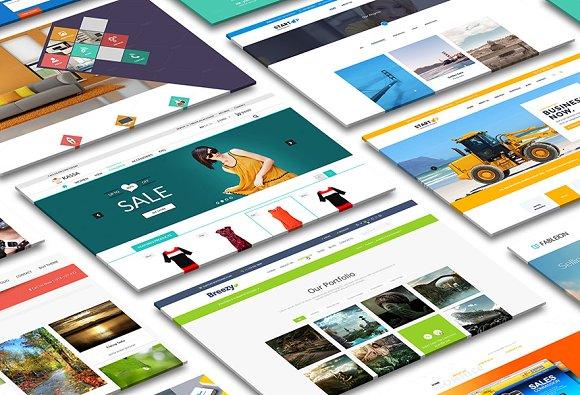Perspective Desktop Screen Mock-Up 2