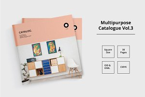 Square Catalogue Template Vol. 3