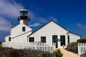 PT LOMA LIGHTHOUSE IN SAN DIEGO