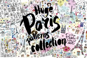 HUGE Paris patterns collection