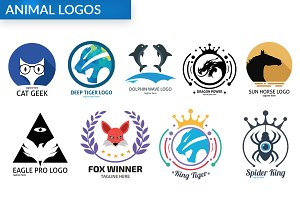 Bundle Animal Logos