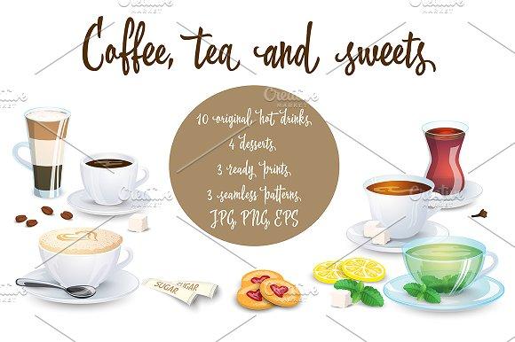 Coffee Tea And Sweets