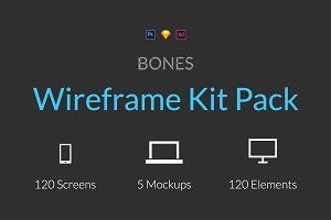 Bones Wireframe Kit Pack