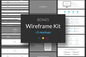 Bones Wireframe Kit