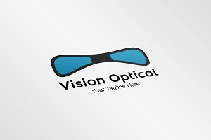 Vision Optical Logo Template