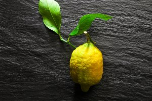 biological organic lemon