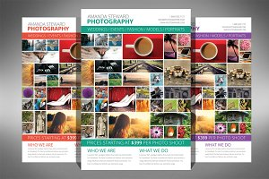 Photo Collage Flyer Template