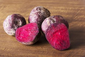 fresh, raw Beetroots