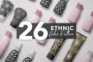 26 Ethnic Boho Patterns