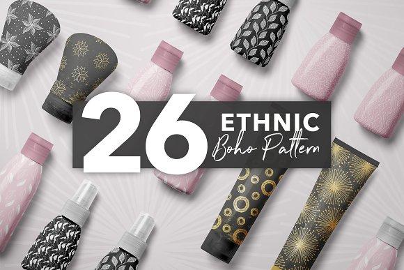 26 Ethnic Boho Pattern