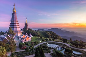 Doi Inthanon national park. Thailand