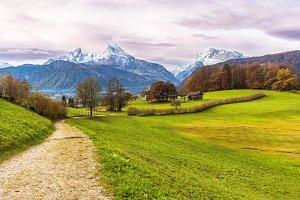Watzmann mountain. Germany