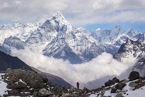Ama Dablam mountain, Himalaya
