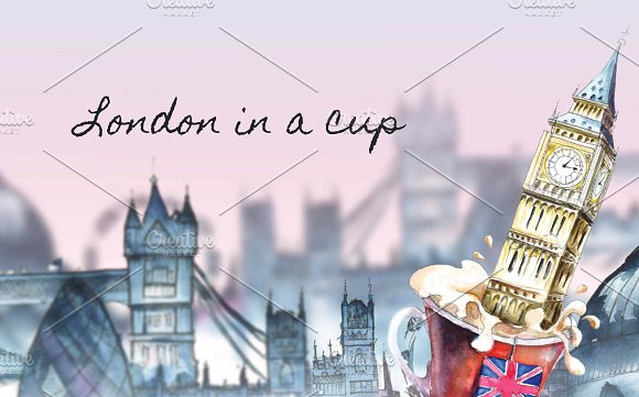London In A Cup