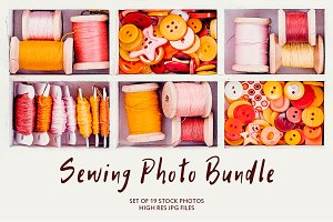 Sewing Photo Bundle