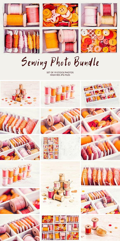 Sewing Photo Bundle