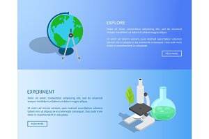 Explore and Experiment Scientific Internet Page
