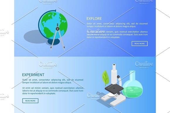 Explore And Experiment Scientific Internet Page