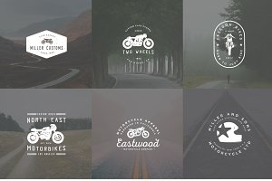 Cafe Racer Logo Bundle