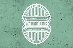 50% OFF Authentic Labels