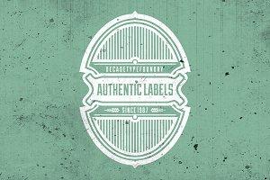 50% OFF Authentic Labels