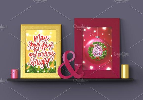 12 Christmas Posters