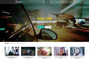 Flexi - PSD for Blog, Personal, News