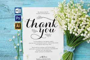 Thanks Wedding sign Wpc318