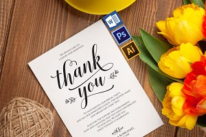 Thanks Wedding sign Wpc320